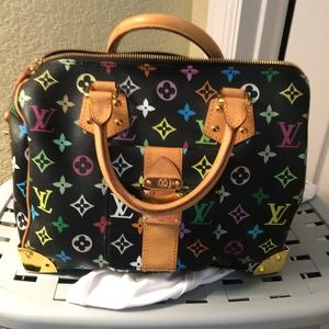 Louis Vuitton multicolor speedy!!